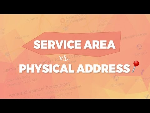 Google Maps | Physical Address vs. Service Area - Here's The Data