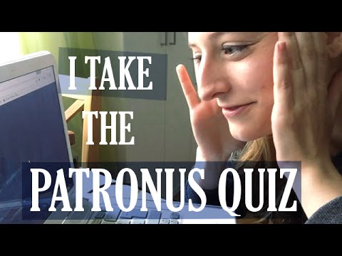 I Take the Pottermore Patronus Test! - Back To Neverland