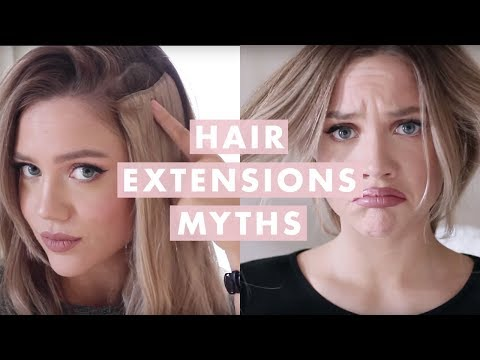 Hair Extensions Myths: Everything You Need To Know!