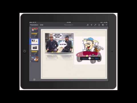 Keynote for iPad: Adding Photos to PowerPoint for iPad