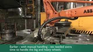 GKN Wheels Nagbøl A/S øger konkurrenceevnen med nye robotanlæg