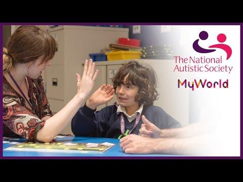 Netley Primary School Students ¦ #MyWorldAutism