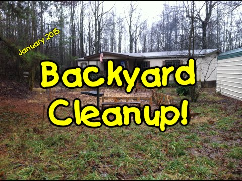 Backyard Cleanup