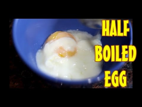 How To Make The 'PERFECT' Half Boiled Egg