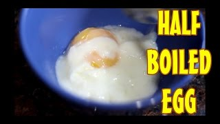 How To Make The Perfect Half Boiled Egg