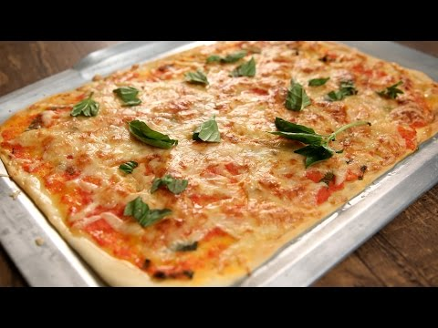 How To Make Margherita Pizza | Authentic Italian Pizza Recipe | The Bombay Chef - Varun Inamdar