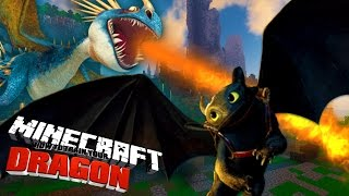 HOW TO TRAIN YOUR DRAGON [1] - Minecraft Custom Mod Adventure (Roleplay #1)