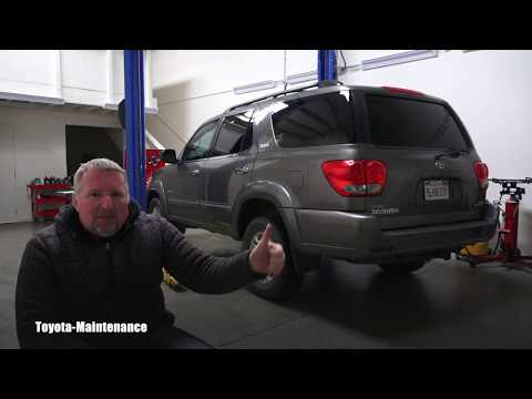 Toyota Sequoia important dust cover