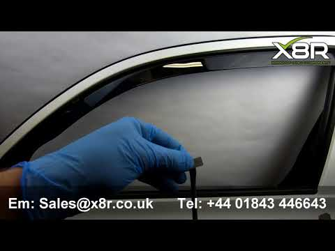 Wind Rain Deflectors Fitting Clips Replacements  Heko G3 Climair Aftermarket Install Instructions