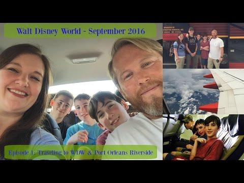 Episode 1: Traveling to Disney World & Port Orleans Riverside - Vlog September 2016