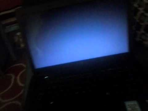 How do i fix the blue screen on my laptop?