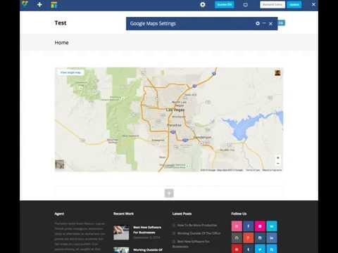 Adding Google Maps - Total WordPress Theme