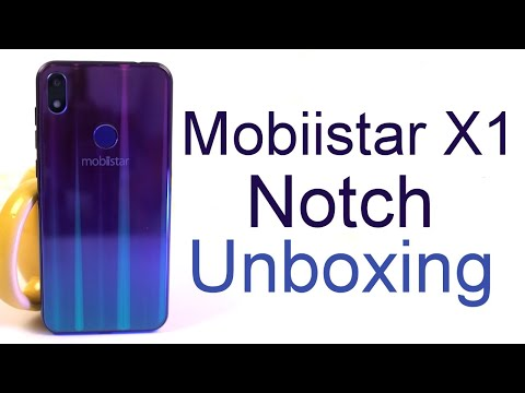 Mobiistar X1 Notch Unboxing