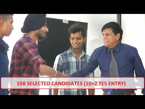 SSB Selected Candidates - 10+2 TES Entry || Cavalier India Defence Training Academy