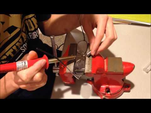 Hemingray's Workshop: How To Fix Glasses That Have Broken In Half