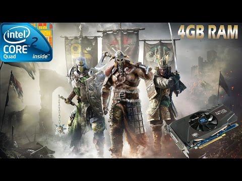 For Honor Beta Gameplay Q6600 4GB Ram HD 7770