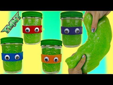 TMNT Teenage Mutant Ninja Turtles Slime  Do itYourself Craft