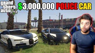 Luxury $3 million Police Car Came To Arrest Me   GTA V GAMEPLAY #1