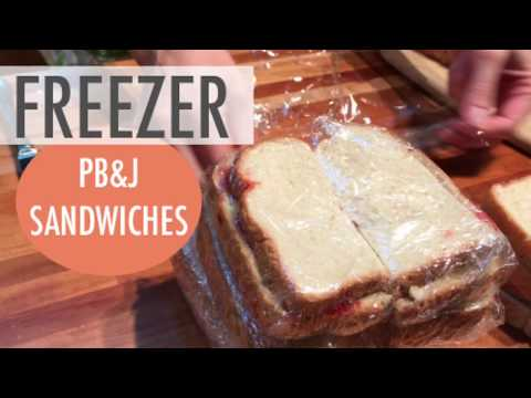How to Make PB&J Sandwiches for the Freezer