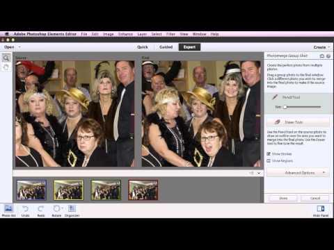 Photomerge Group Shots in Photoshop Elements 11