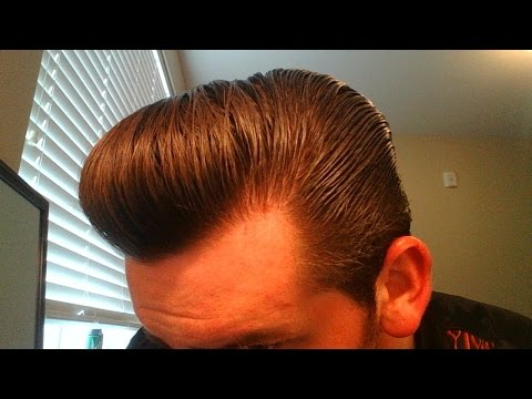 How to Style a Full Pompadour with Thick Wavy Hair. Murray's Pomade