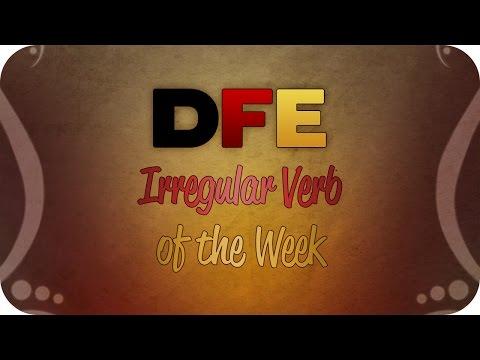 Irregular Verb of the Week: raten