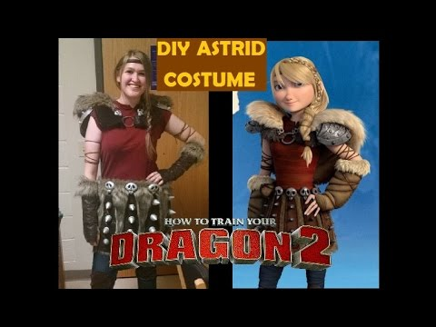DIY Astrid Costume HTTYD2 - PART 1: MATERIALS