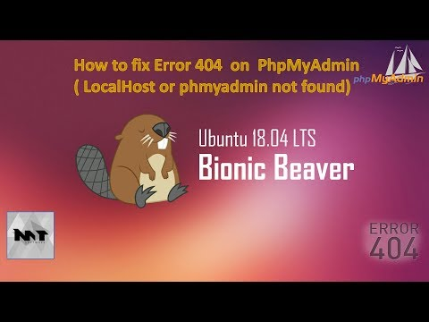 How to fix Localhost or phpMyAdmin not found on Server