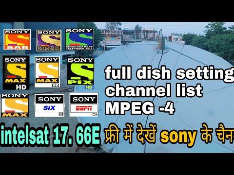 Intelsat 17 - 66E dish setting & channel list
