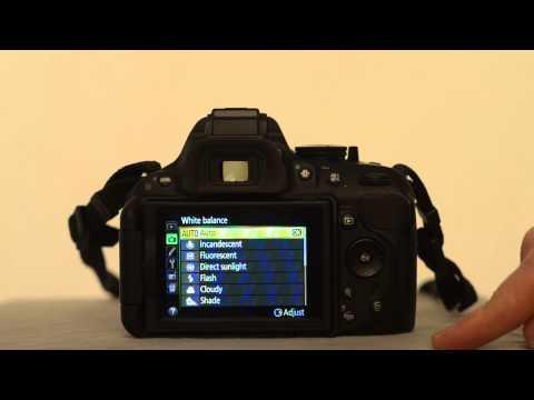 Nikon D5200 White-Balance Menu - youtube