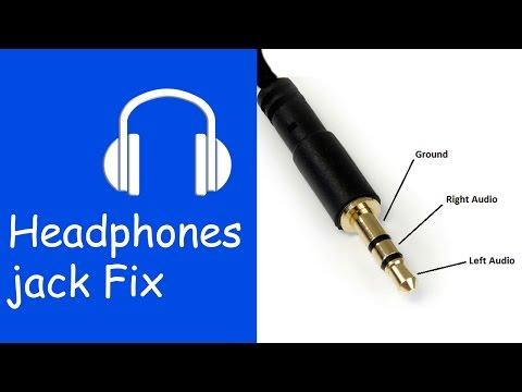 fix headphone jack   philips sbc hl 140