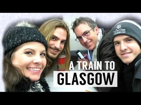 A Train to Glasgow - Scotland Travel