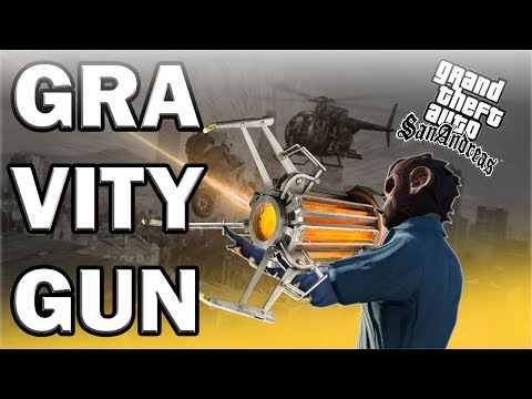 HOW TO INSTALL THE GRAVITY GUN MOD IN GTA SAN ANDREAS