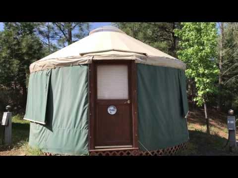yosemite pines rv resort. And Yurt Tour