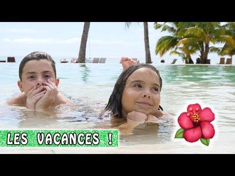 ENFIN LES VACANCES ! 🌴 / Family Vlog à Moorea / Tahiti Vlog
