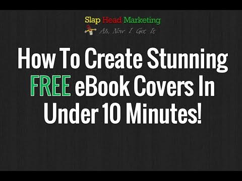 How To Create Free Ebook Covers In Minutes!