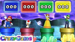 Mario Party 10 Coin Challenge - Wario vs Toadette vs Yoshi vs Donkey