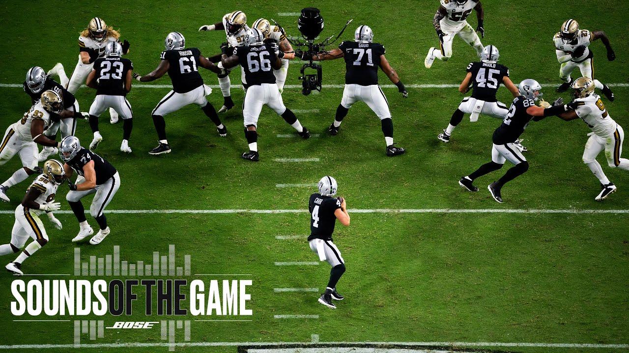 Raiders Historic Week 2 Victory vs. Saints on MNF   Sounds of the Game   Las Vegas Raiders