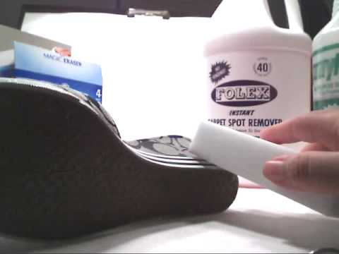How to clean your coach athletic shoes mid soles or others