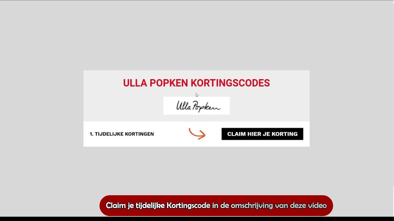 ulla popken kortingscode