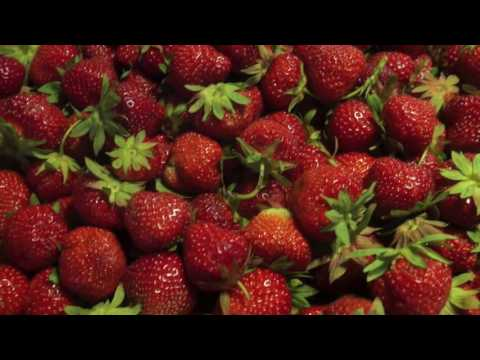How to make strawberry jelly - Picking and baking