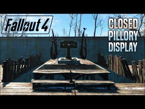 Create a Cʟᴏsᴇᴅ Pillory Display 🔒 Fallout 4 No Mods Shop Class