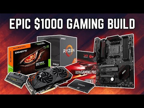 BEST $1000 GAMING PC BUILD GUIDE!!!