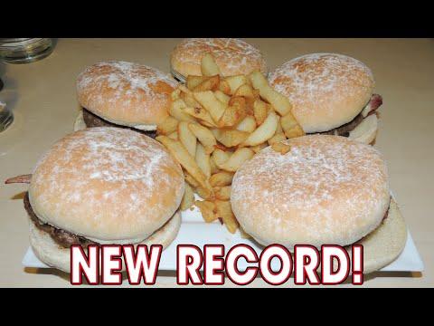 40oz Burger Challenge RECORD in Northern Ireland!!