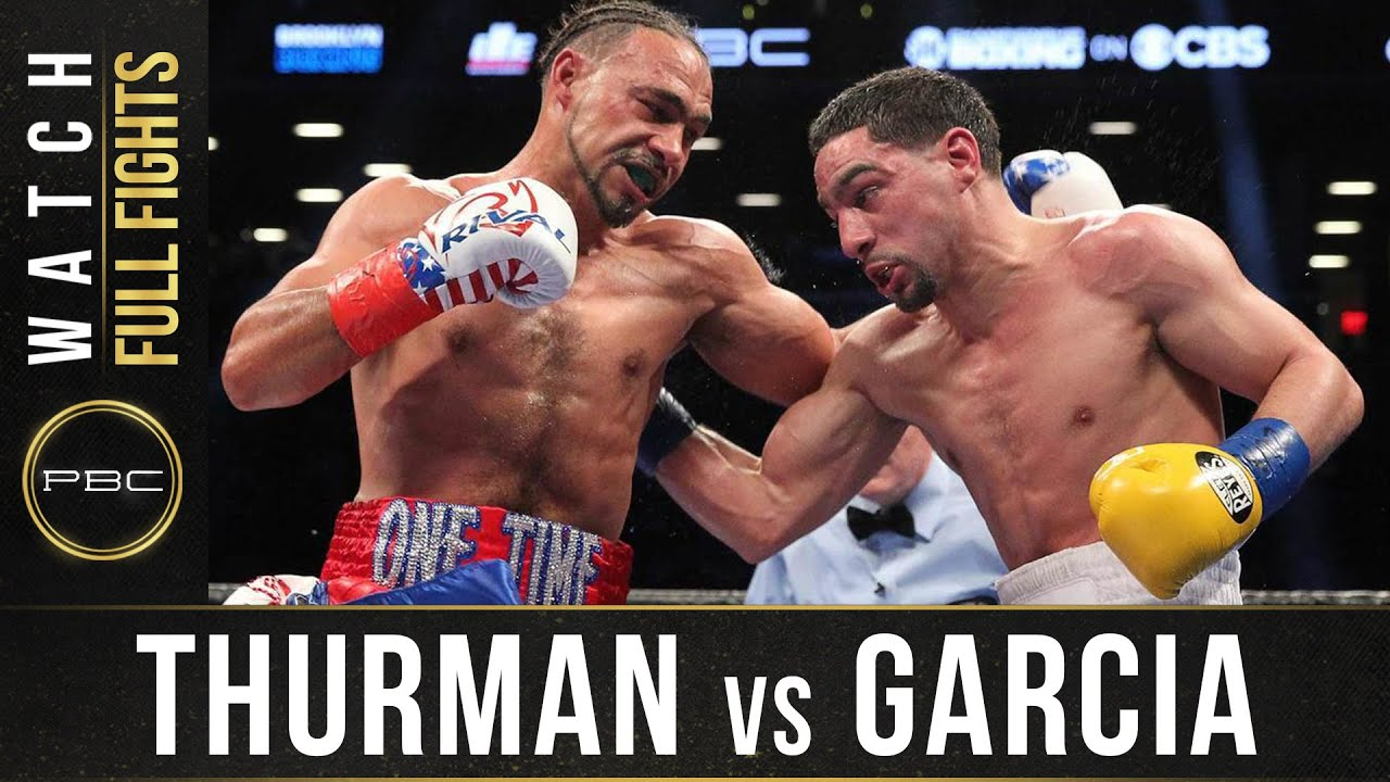 Thurman vs Garcia FULL FIGHT: March 4, 2017 - PBC on Showtime