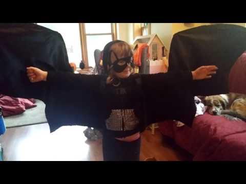 Maddy's bat costume