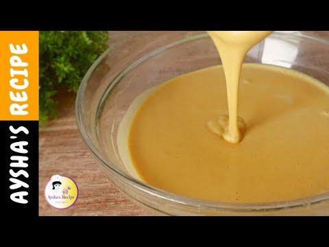 পারফেক্ট বেসন গোলা তৈরির পদ্ধতি  |  How to make basic Gram flour / chickpea flour / besan Batter