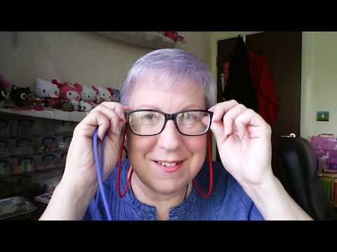 Glasses Cords Review And My Own Polymer Eyeglass Holder Pendant