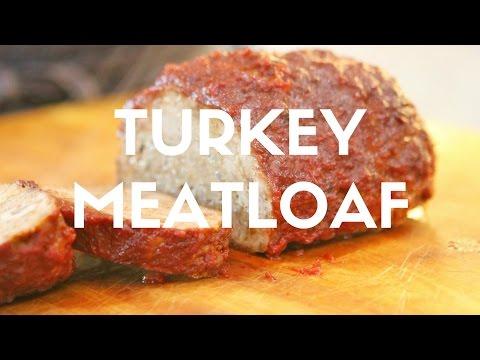 Turkey Meatloaf with Cinnamon Clove Tomato Sauce Recipe