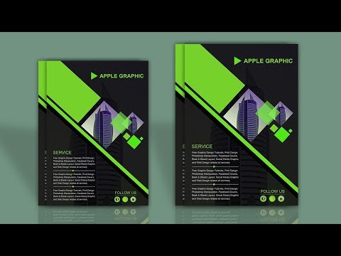 How To Make Your Own Flyer Brochure Mockup - Photoshop Tutorial